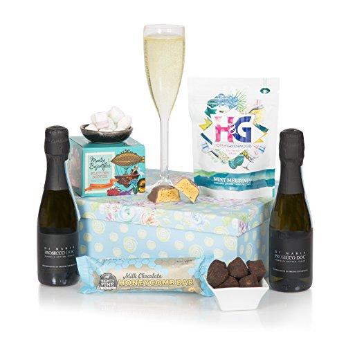 Cesta para compartir con Prosecco - Cestas de regalo con chocolates y Prosecco - ¡Para cualquier ocasión especial!