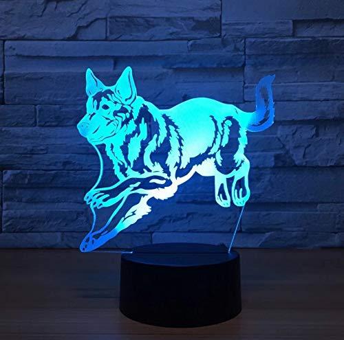 Mariposa Noche De Acrílico 3D Luz Usb Sleep Fix Fixture 3Aa Batería De Potencia Lámpara De Mesa Dormitorio Decoración Regalo Para Niños (Halloween Decoracion Mesa De Para)
