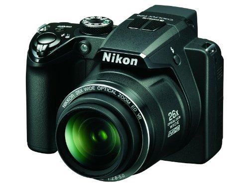 Nikon Coolpix P100 Digitalkamera (10,3 Megapixel, 26-fach Weitwinkelzoom, 7,5cm (3,0-Zoll) Display) schwarz