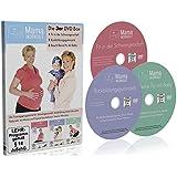MamaWorkout - Die 3er DVD Box zum Sparpreis ++ Das Rundum Sorglos Paket ++ 1. Fit in der Schwangerschaft ++ 2. Rückbildungsgymnastik ++ 3. Bauch Beine Po mit Baby