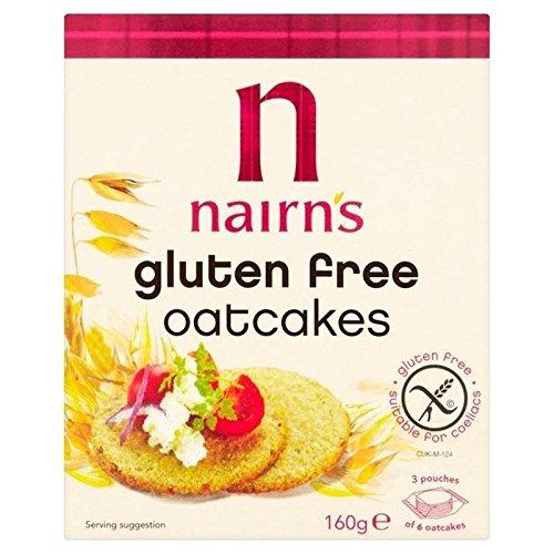 Preisvergleich Produktbild nairn' S glutenfrei Oatcake 160 G (Packung von 2)