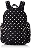 French Connection Damen Tara Polka DOT Backpack Rucksackhandtaschen, Schwarz (Polkadot Black 1), 30x41x18 cm