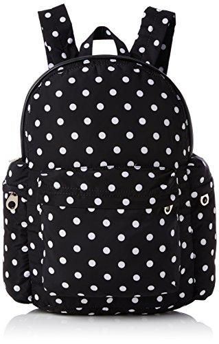 french-connection-tara-polka-dot-backpack-nero-nero