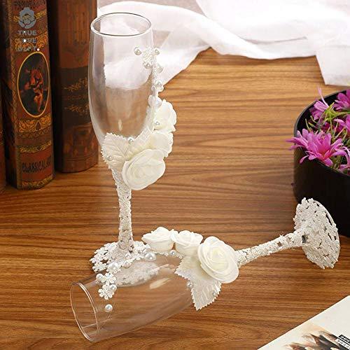 Hochzeitsfeier Weingläser Decals. Champagner Flöte Decals. Vervollkommnen Sie für Ihre Weingläser, Flaschen, Brautjungfern-Geschenk, Wasser-Flasche, etc. (Flöte Brautjungfer)
