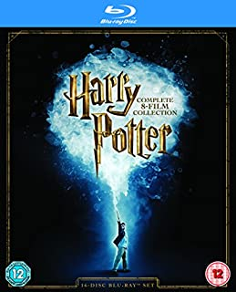 Harry Potter - Complete 8-film Collection [Blu-ray] [2016] [Region Free] (B01C45OD6K) | Amazon Products