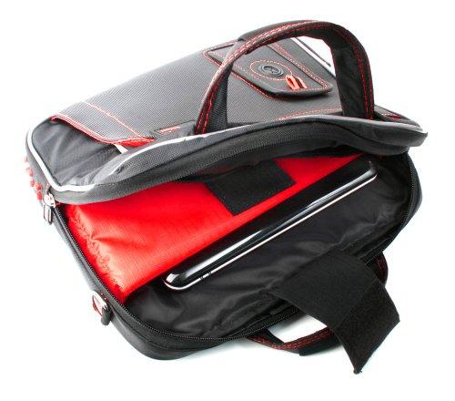 Schultertasche für Wacom Grafiktabletts mit Platz für Zubehör und Antifouling-Handschuh - 5