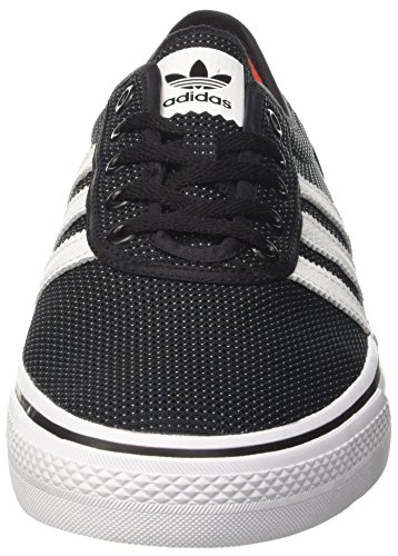 adidas Adi-Ease, Scarpe da Skateboard Unisex – Adulto Nero (Negbas/Ftwbla/Energi)