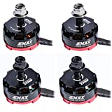 DroneAcc 4pcs EMAX RS2205 2205 2300KV Brushless Motor 2CW 2CCW for QAV250 QAV300...