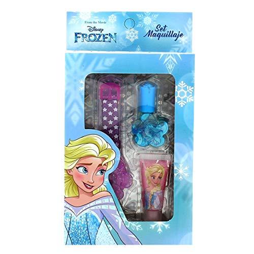 Falca Kit cosmética uñas 4 Piezas-Frozen Infantiles