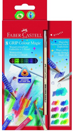 Faber-Castell 113008 - Grip Colour Magic 8er Etui