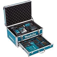 Makita DHP453RFX2 Perceuse viceuse à percussion/2 batteries 18 V 3Ah