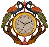 #8: Divine Crafts Wall Clock (Multicolor)