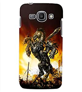 ColourCraft The Warrior Design Back Case Cover for SAMSUNG GALAXY ACE 3 S7272 DUOS