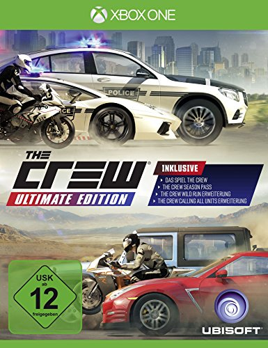 The Crew - Ultimate Edition - [Xbox One] - [Edizione: Germania]