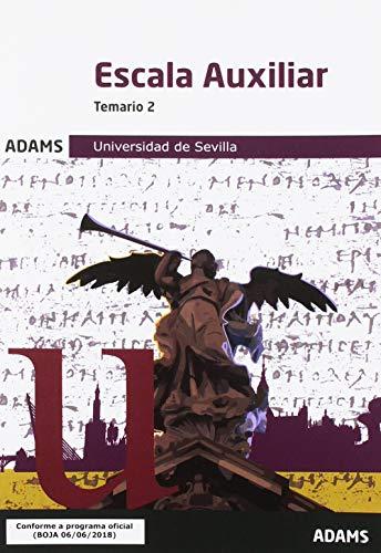 Temario 2 Escala Auxiliar Universidad de Sevilla