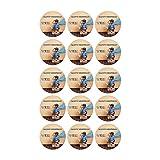Tortenaufleger mit Wunschfoto und Wunschtext Geburtstag Tortenbild Zuckerbild Oblate Tortenplatte mit eigenem Foto und Text (Oblatenpapier Muffinaufleger 15 Stück a 5cm)