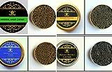 Quartetto di selezione di Caviale..4 x 50 gr.(200 gr) consegna 1-2 giorno