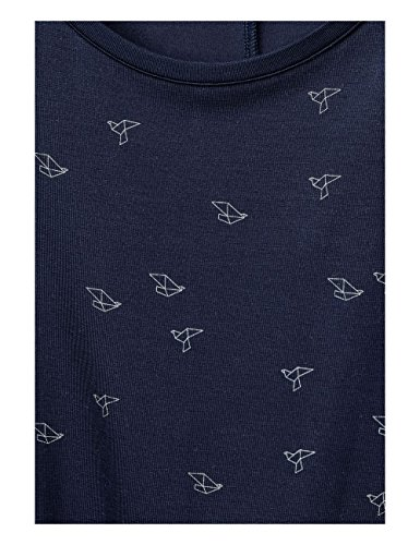 Street One T-Shirt Donna Blau (Evening Blue 21151)