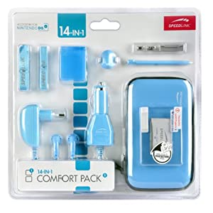 Speedlink Zubehör für Nintendo Handheld (Tasche/Kopfhörer/Ladekabel Steckdose und KFZ/Touchpen/Spielhülle/Mikrofasertuch…