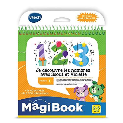 Magibook - Je découvre les nombres avec Scout et Violette