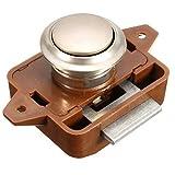 Easy Go Shopping Keyless ABS Push Im Schloss Lock Knopf für Schrank Schublade in Farbe braun benötigt eine 26 mm Durchmesser