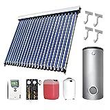 Westech Solar 8000001K Solarthermie-Set 1 WT-B (8 m²) + Kombispeicher