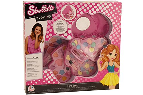 Globo Toys Globo–35374sbelletti Pink Love Kosmetiktasche (One Size)