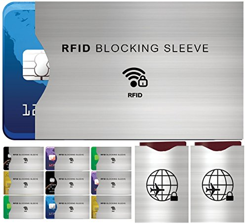 Protectores de Bloqueo para Prevenir RFID