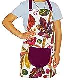 beties Zauberwald Kinderschürze 100% Baumwolle für kleine Helfer in der Küche langlebig & hautsympathisch Farbe (Elfenbein-Bunt) 1 Stück
