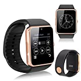 Drumstone Bluetooth Smart Watch GT08 Phone With Camera and Sim Card & SD Card Support with S530 Mini Bluetooth headset Suitable with Smartphones (One Year Warranty, Assorted Colour)