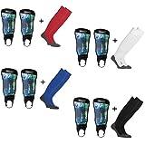 Sportskanone Turbulence Kinder Fußball Schienbeinschoner Stutzen Set Uhlsport Schienbeinschoner inkl Stutzen verschiedenen Farben