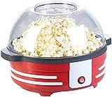 Rosenstein & Söhne Cinema-Popcorn-Maschine: Retro-Popcorn-Maschine mit Rührwerk und Antihaftbeschichtung, 850 Watt (Popcornmaschinen Kino)