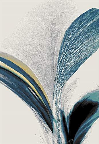 HD-Dreamer Teppiche Designer Teppich Modern Design Wohnzimmer Matten Vorleger Fußmatten -Zeitgenössisch Abstraktes Gemälde,C,160 * 230Cm(4.5Kg)