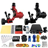 Solong Tattoo Profi Tattoomaschine Set 2 Tattoo Maschine Guns Nadel Tattoo maschine Set Kit TK201-16