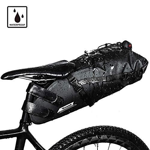 Wasserdicht Fahrrad Satteltasche Fahrrad Tasche Unter Sitz-Tasche Rahmentasche Fahrradtasche Oberrohrtasche Aero Wedge Pack Regenfeste Mountainbike Sitztasche Professionelles Fahrradzubehör - Fahrrad Unter Tasche Dem Sitz