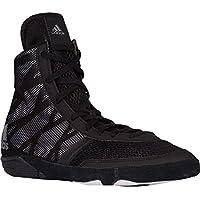 Zapatilla de lucha Adidas Pretereo III, (Negro/Plateado), 10 D(M) US