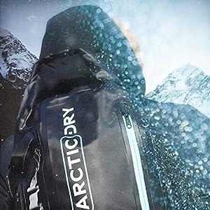 51Tvtr2ko1L. SS300  - ArcticDry Mochila 100% resistente al agua 30L Bolsa seca – Diseño actualizado – Perfecto para navegar, kayak, piragüismo…