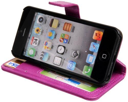 Avanto étui pour Apple iPhone 5 rose POUCH CASE II aubergine