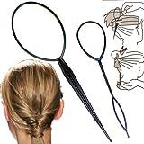 Accessoires de Coiffure' Hair Stick' (1 petit + 1 grand) - Noir de Boolavard TM