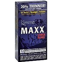 Kimono MAXX Large Flare - 12 extradünne, komfortable Kondome preisvergleich bei billige-tabletten.eu