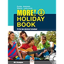 MORE! Holiday Book 3, mit 1 Audio-CD