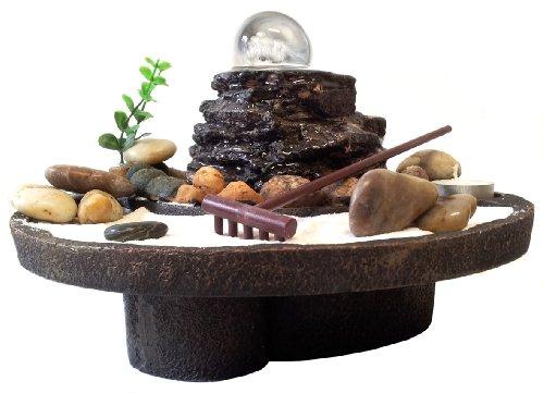 Fuente feng shui con jard n zen mundo misterioso - Fuente decoracion interior ...