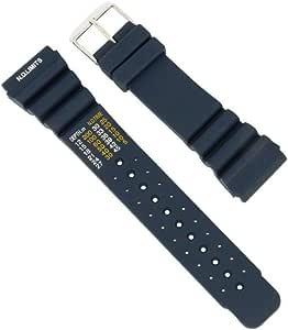 Cinturino per orologio per subacquei, sportivo, in silicone