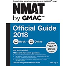 NMAT by GMAC Official Guide 2018