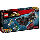 LEGO - 76048 - Marvel Super Heroes - Jeu de Construction - L'Attaque en Sous-Marin d'Iron Skull