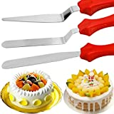 Bihood Spatula Cream Cheese Spread Brownie Spatula Metal Spatula Butter Knife Magic Butter Knife Cake Knife Cake Decorating Spatula Cake Spatula Spatulas Expensive 403 Stainless Steel