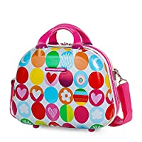 Agatha Ruiz De La Prada Happy Beauty Case, 35 cm, 10 liters, Pink (Fucsia)
