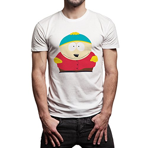 South Park Family Characters Cartoon Swag Herren T-Shirt Weiß