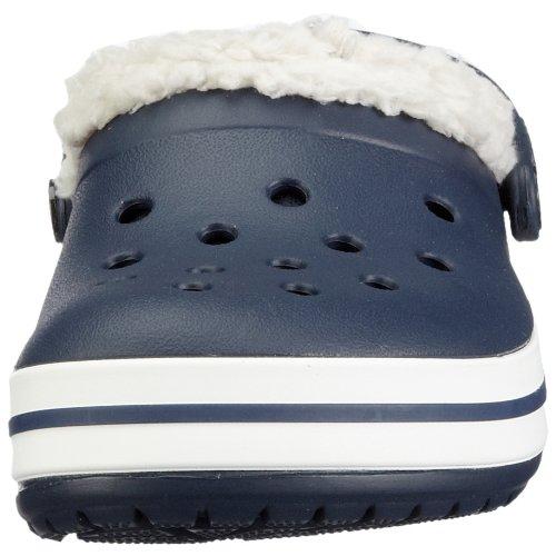 CrocsCrocband Mammoth Kids - Zoccoli Unisex per bambini Blau (Navy/Oatmeal