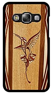 Dot Print Back Cover For Samsung Galaxy On5 Wood Bird Design Printed Case
